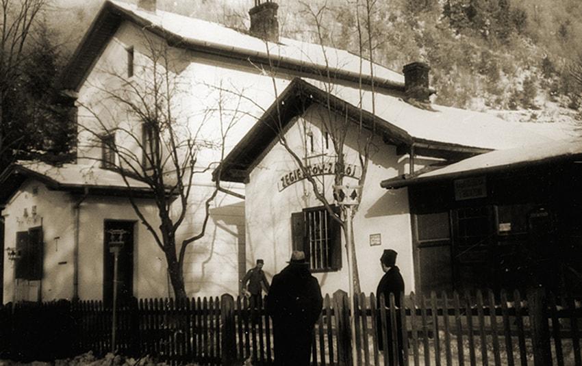 Stacja kolejowa wŻegiestowie. Sygnatura: 1-G-3798-2, 1951