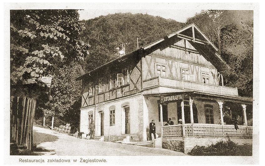 Restauracja zakładowa wŻegiestowie 1925 r.