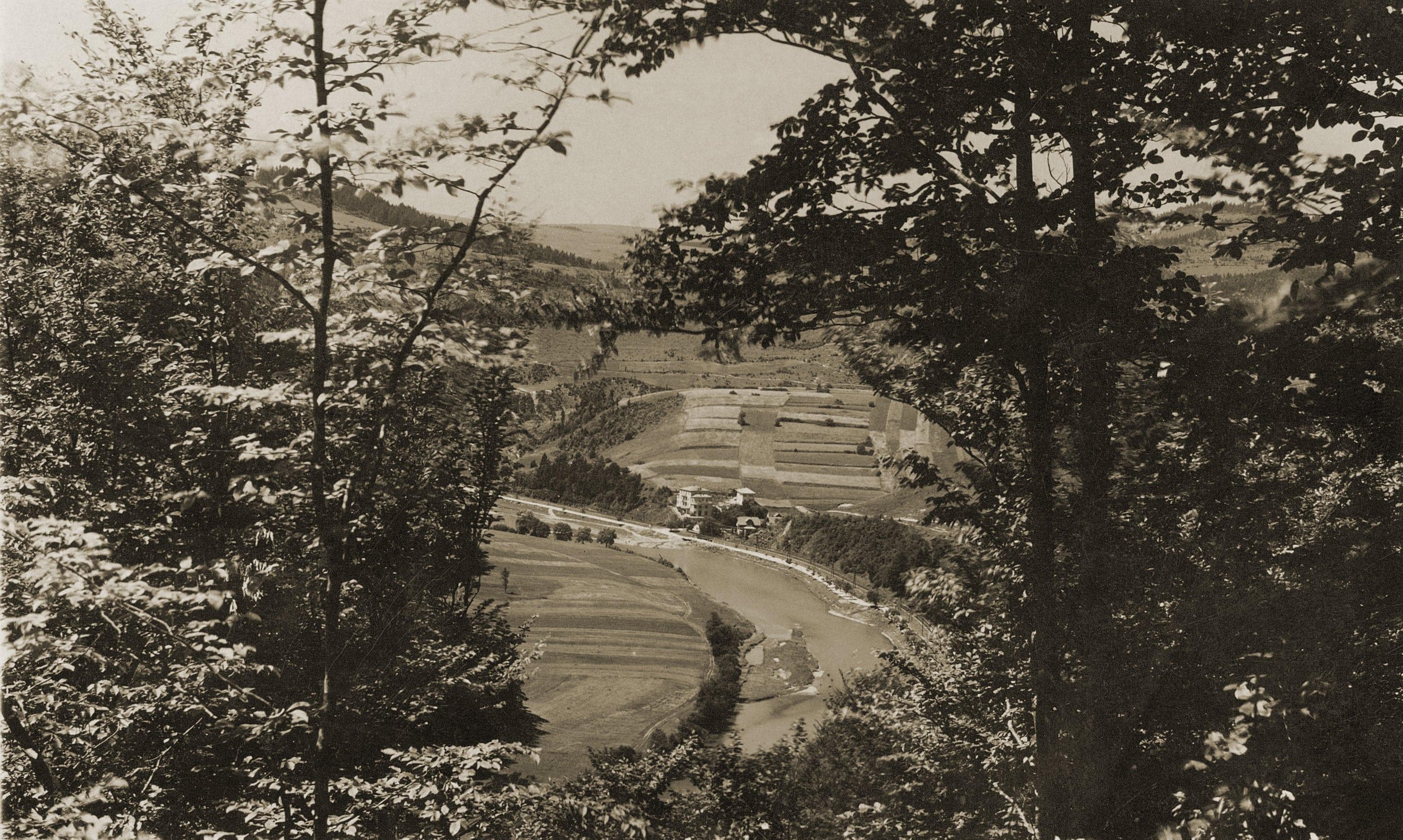 Dolina Popradu Żegiestów 1938 r.