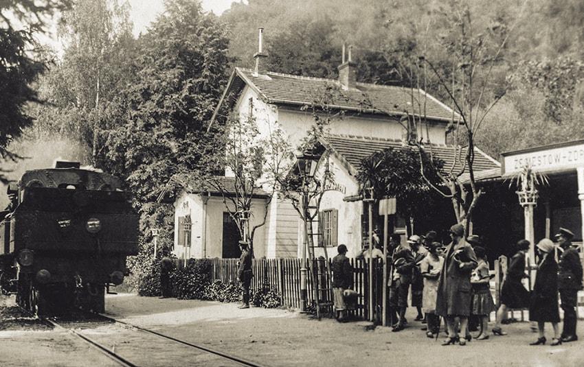 Stacja Kolejowa Żegiestów-Zdrój
